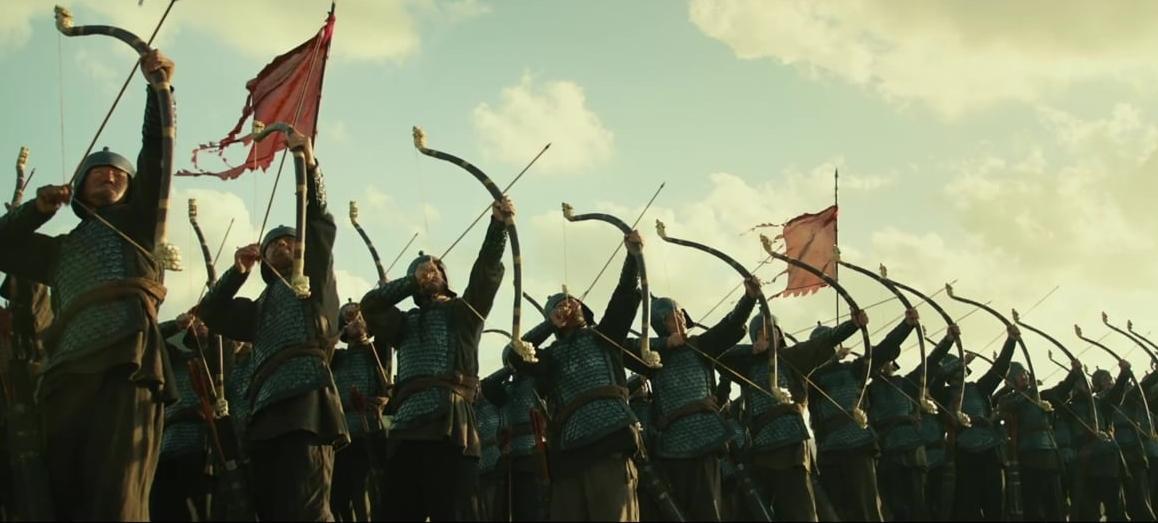 "Kadr z filmu ""The Great Battle"""